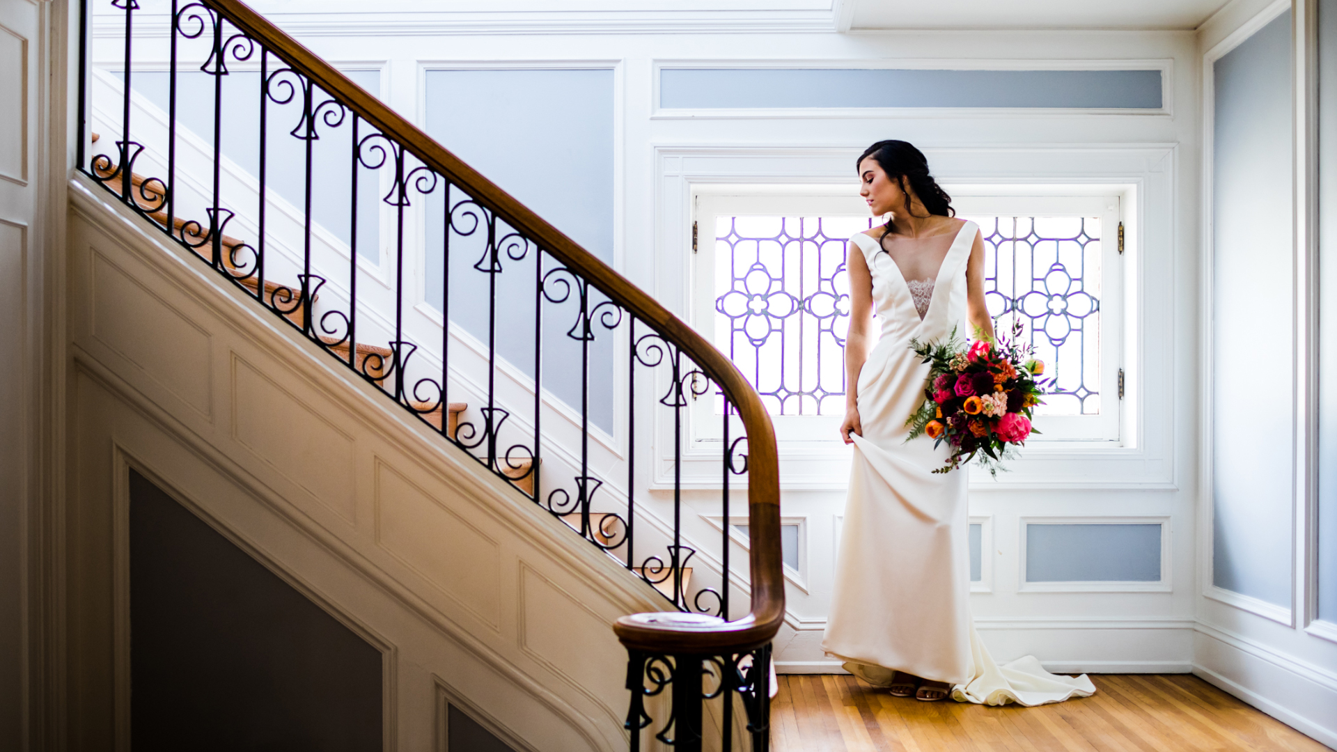 Bridal Suite at Historic King Mansion